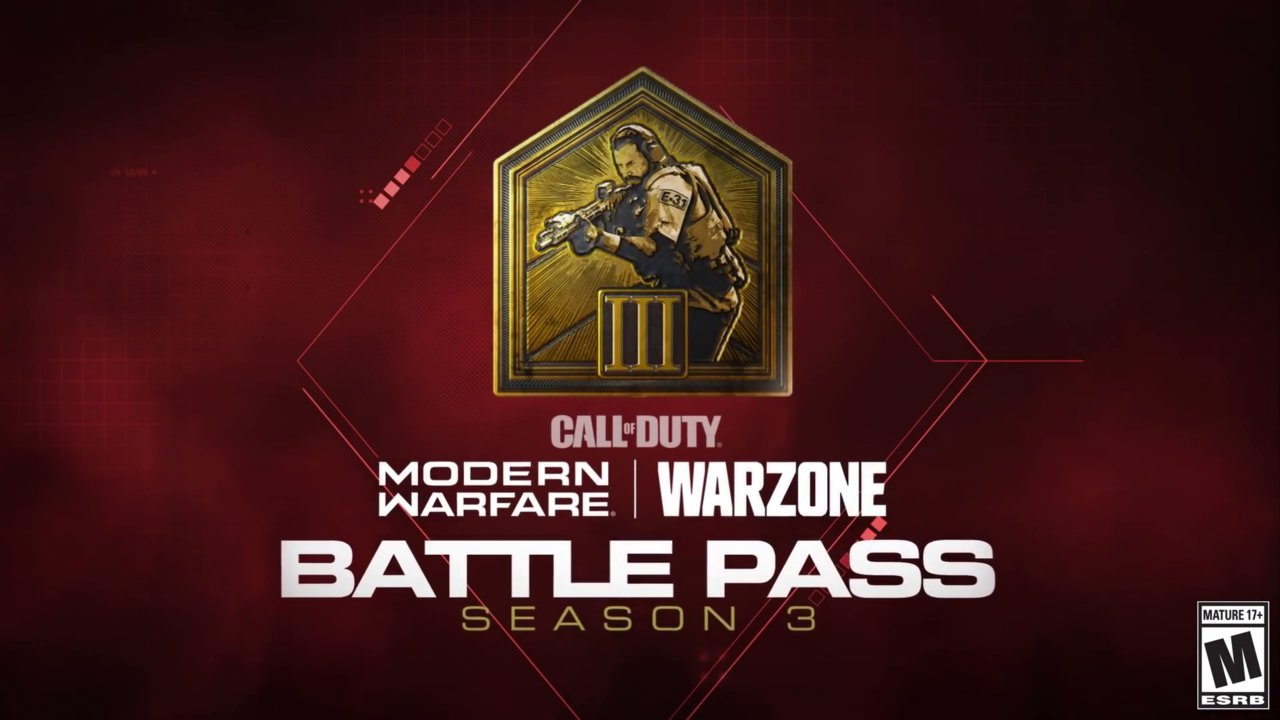 Call Of Duty Modern Warfare And Warzone Season 3 Battle Pass Overview And Tiers Cod Tracker