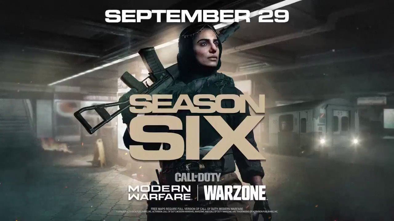 Season 6 of Modern Warfare and Warzone Revealed - COD Warzone Tracker