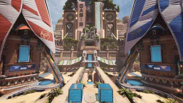 Introducing Oasis: New Splitgate Map