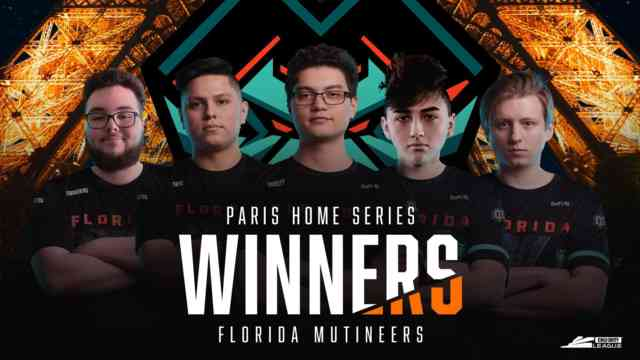 Call of Duty League Paris Home Series Results