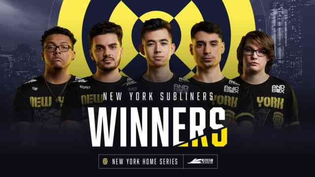Call of Duty League New York Home Series Results