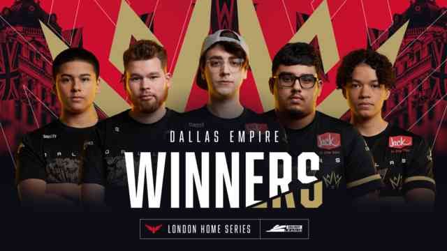 Call of Duty League London Home Series Results