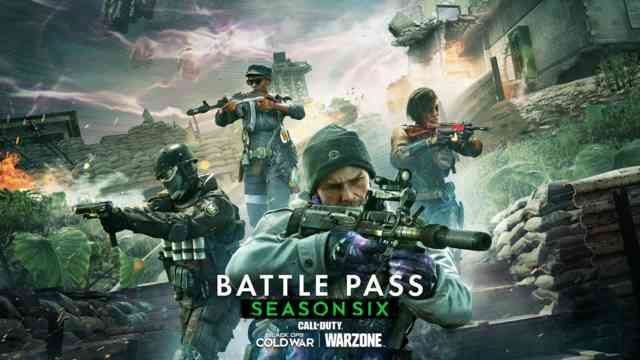 Season Six Battle Pass Tiers and Rewards in Black Ops Cold War and Warzone