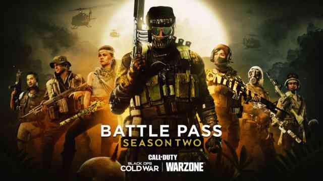 Season Two Battle Pass Tiers and Rewards in Black Ops Cold War and Warzone