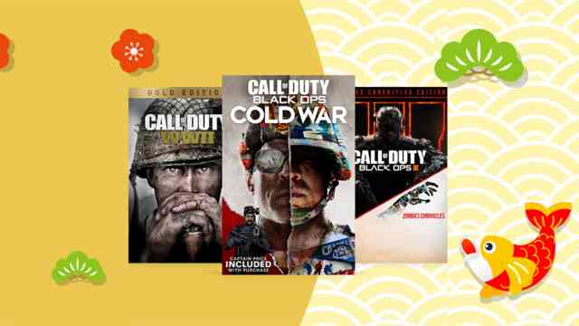 Golden Week Call of Duty Sales on PlayStation and Xbox