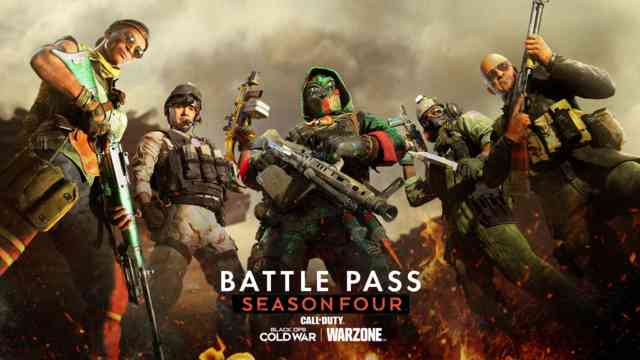 Season Four Battle Pass Tiers and Rewards in Black Ops Cold War and Warzone