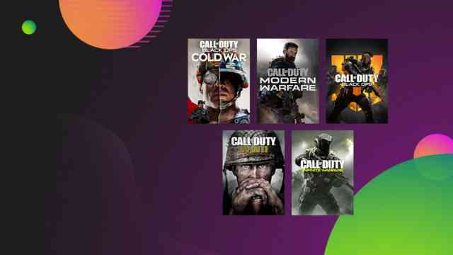 Call of Duty Deals in the Xbox Ultimate Game Sale