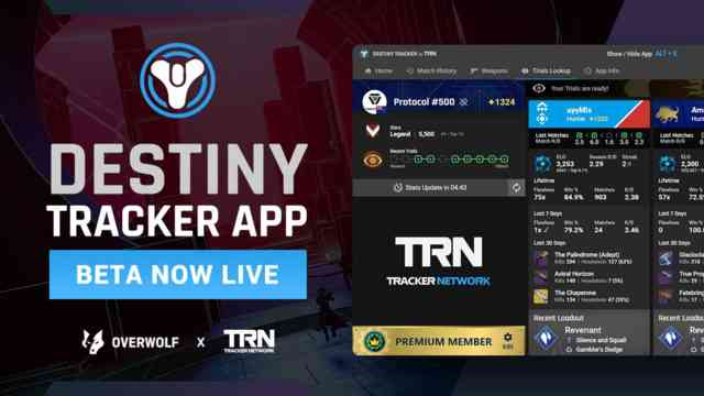 Destiny 2 Tracker In-Game Overlay App Is Now Available!
