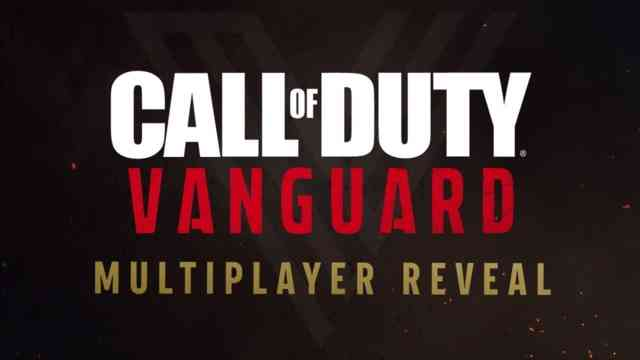 Multiplayer Gameplay Reveal for Call of Duty: Vanguard