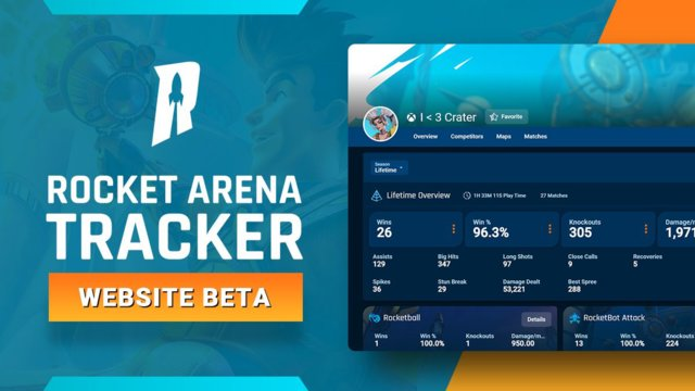 Rocket Arena Tracker Is Now Available!