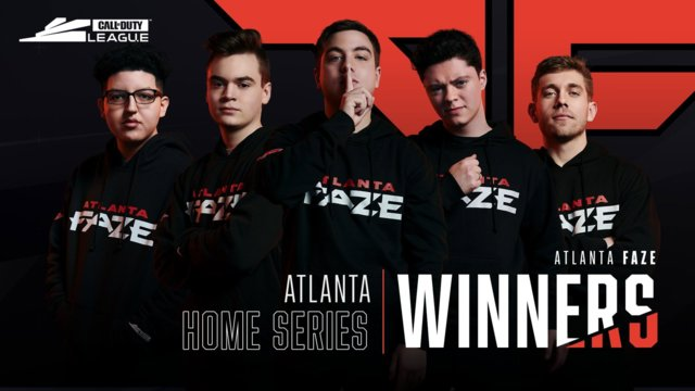 Call of Duty League Atlanta FaZe Home Series Results