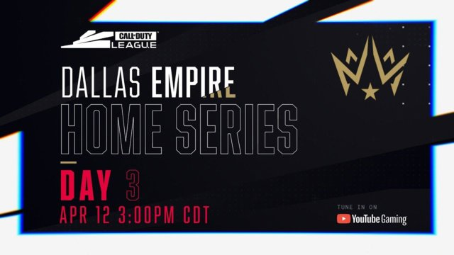 Call of Duty League Dallas Home Series Results