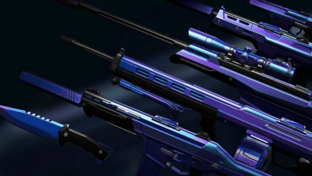 How are Valorant weapon skins designed?