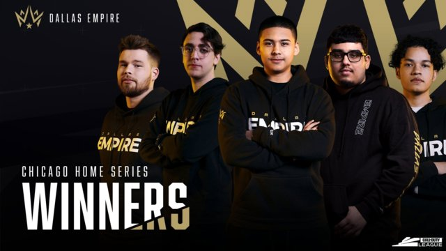 Call of Duty League Chicago Home Series Results