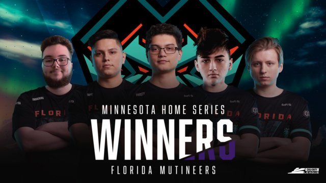 Call of Duty League Minnesota Home Series Results