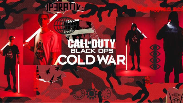 DRKN Unveils Black Ops Cold War Apparel Collection