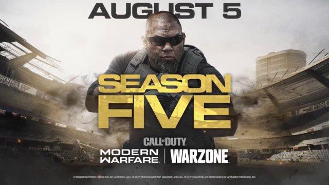 Season 5 Roadmap for Modern Warfare and Warzone