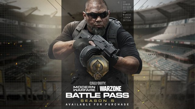 Season 5 Battle Pass Tiers and Rewards in Modern Warfare and Warzone