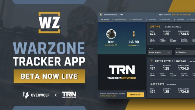 Warzone Tracker In-Game App Beta Is Now Available!