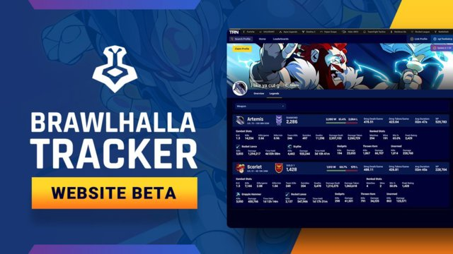 Brawlhalla Tracker is now available!