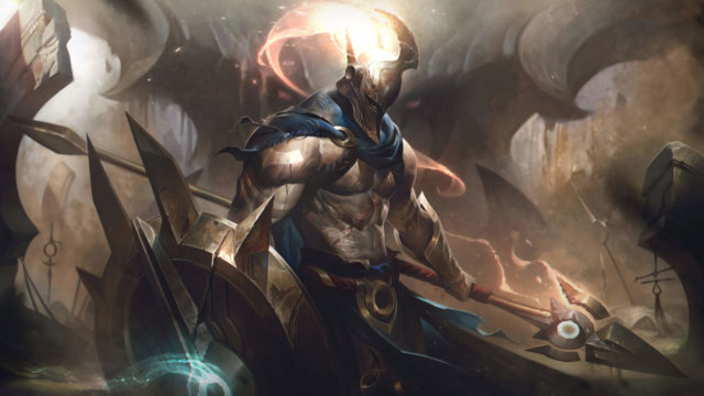 Everything we know about new Teamfight Tactics champion addition Pantheon so far